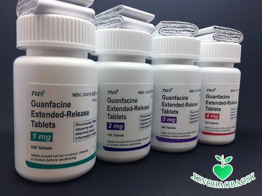Guanfacine – Thuốc điều trị tăng động chỉ dùng cho trẻ trên 6 tuổi
